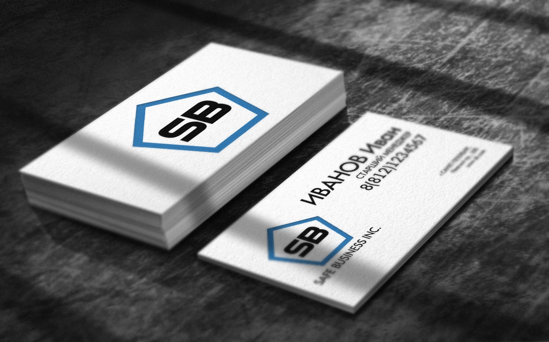 Логотип + Визитка Портала безопасных сделок фото f_664535fc10f86906.jpg