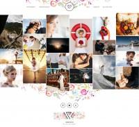 Сайт фотографа «WEDION»