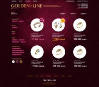 GOLDEN – LINE – Ювелирный магазин