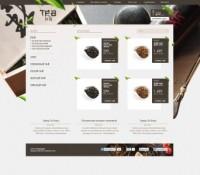 Магазин чая Tea Irk вариант №1