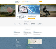 MEDIA PLANET – Сайт креативного агенства интернет маркетинга