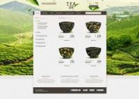 Магазин чая Tea Irk вариант №2