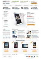 Магазин мобильных телефонов и акссесуаров, верстка и программирование.