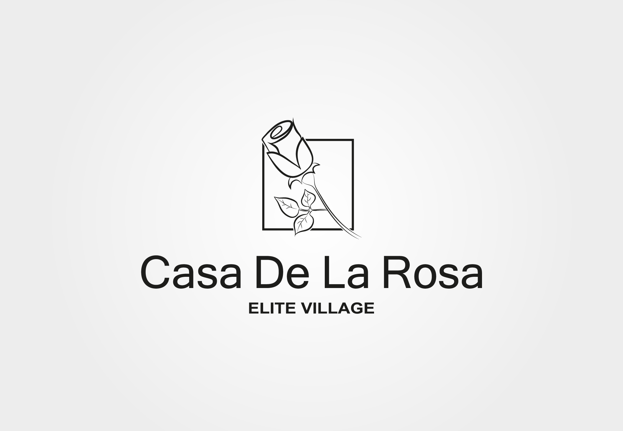 Логотип + Фирменный знак для элитного поселка Casa De La Rosa фото f_2935cd6a5faba236.jpg