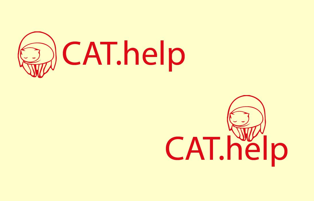 логотип для сайта и группы вк - cat.help фото f_38559db9f1090fe7.png