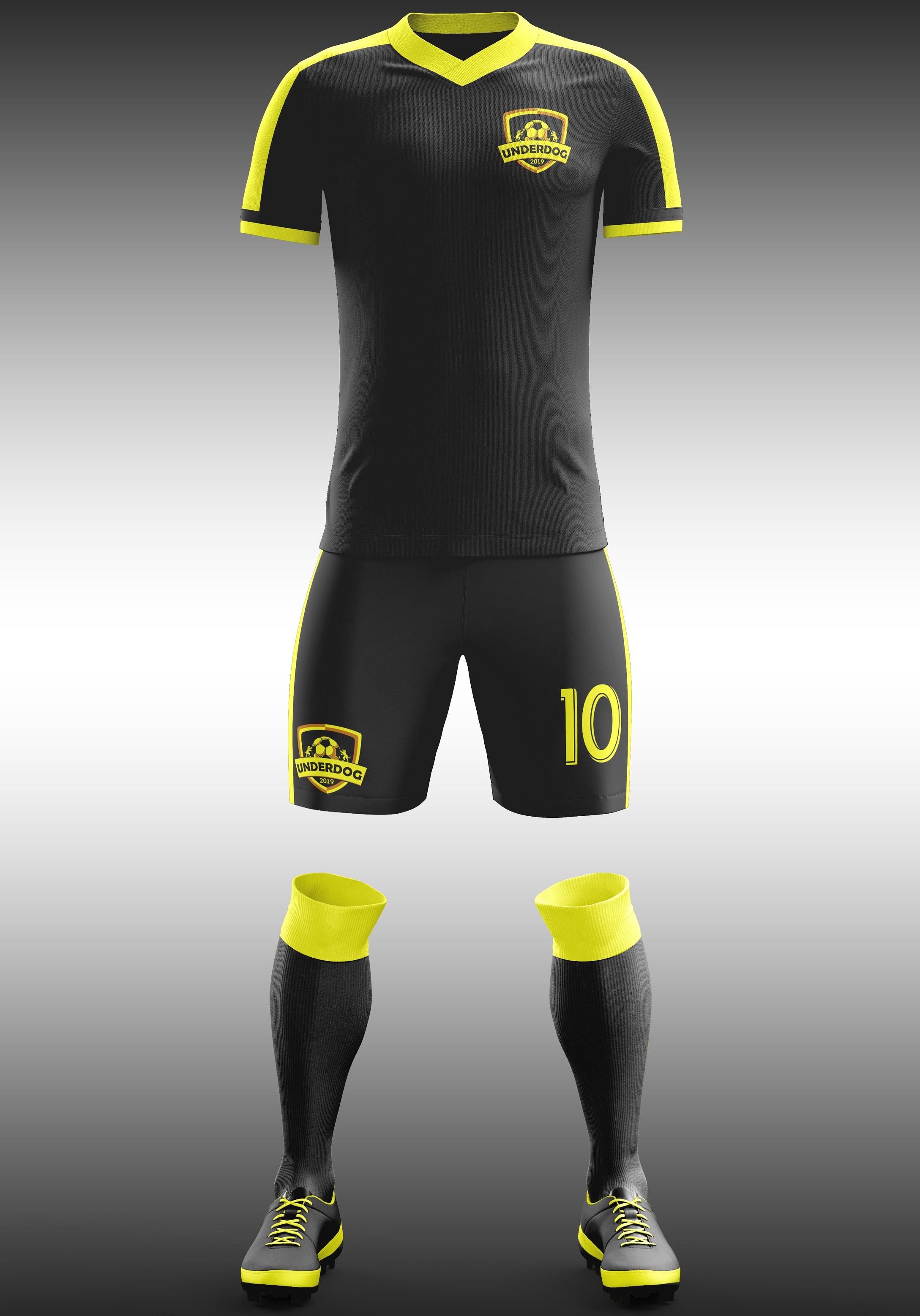 Футбольный клуб UNDERDOG - разработать фирстиль и бренд-бук фото f_7745cb1d6d683331.jpg