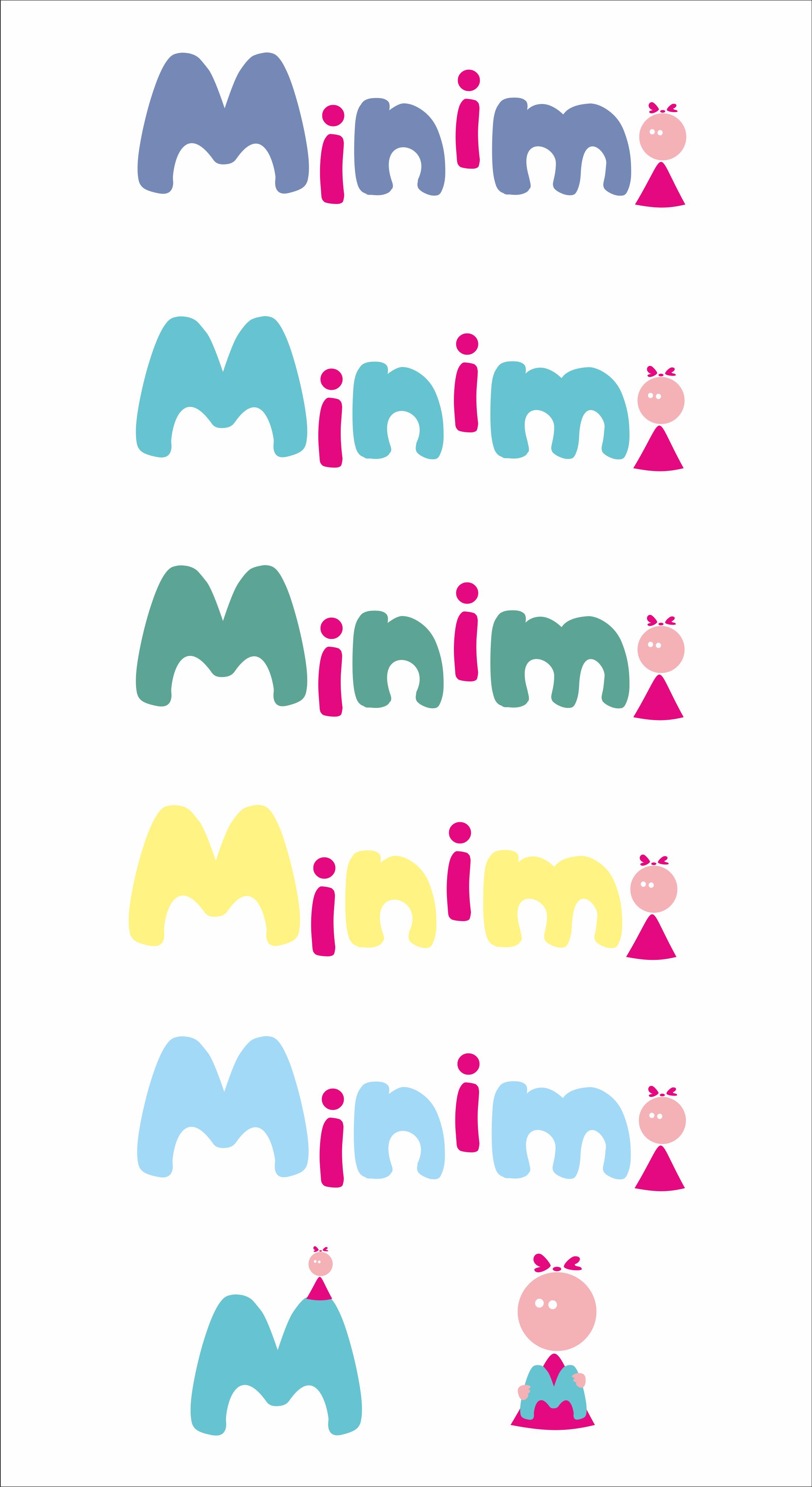 Цель: Разработать логотип детской дизайнерской одежды Мinimi фото f_0635b24bbc5c527a.png