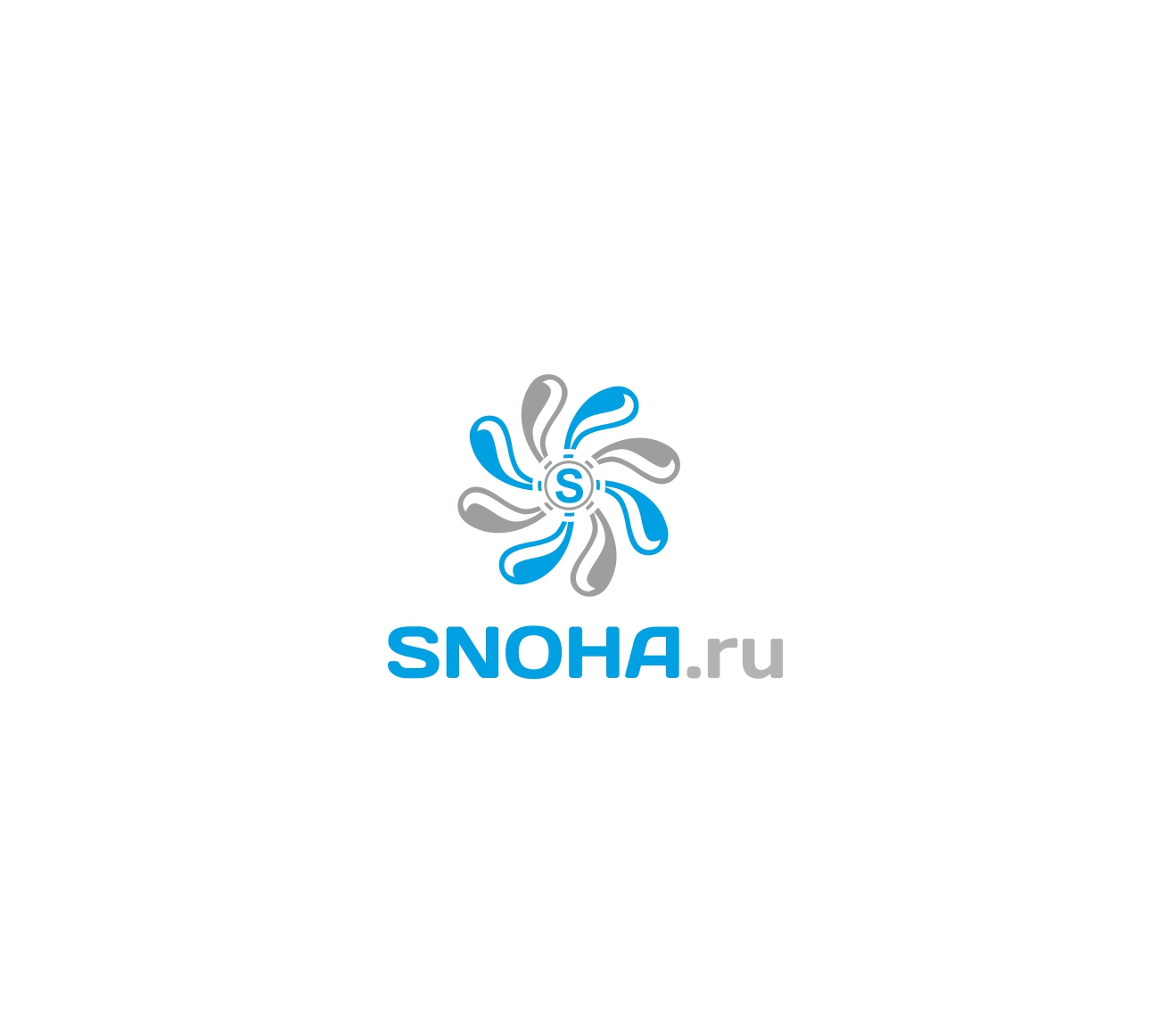 Логотип клининговой компании, сайт snoha.ru фото f_45854a26c658828e.jpg