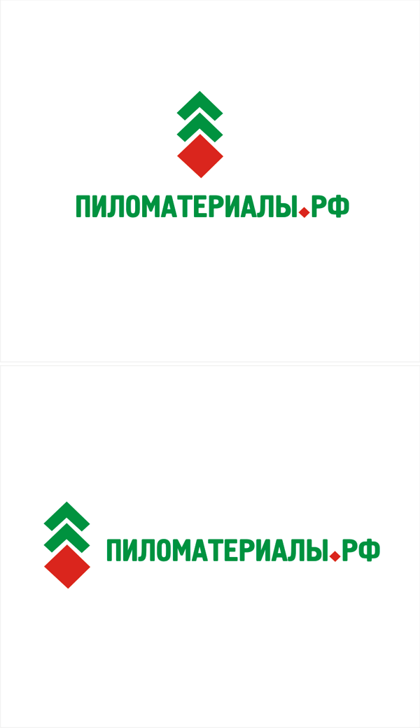 """Создание логотипа и фирменного стиля """"Пиломатериалы.РФ"""" фото f_54252fdf0e46cc55.png"""