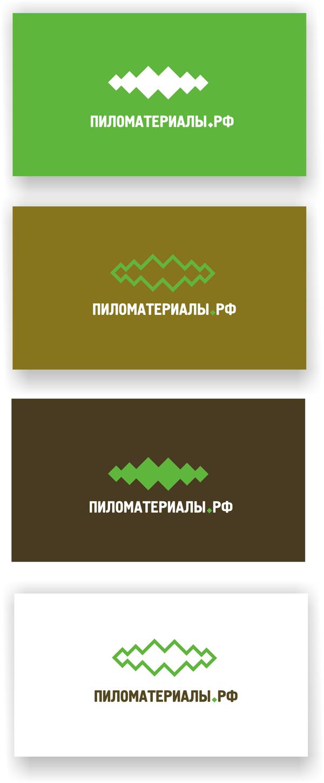 """Создание логотипа и фирменного стиля """"Пиломатериалы.РФ"""" фото f_92052fc9c0aca5cc.png"""