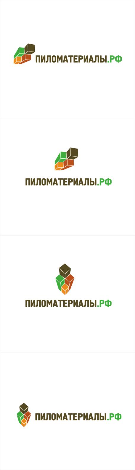 """Создание логотипа и фирменного стиля """"Пиломатериалы.РФ"""" фото f_93952fdf0f73cf55.png"""