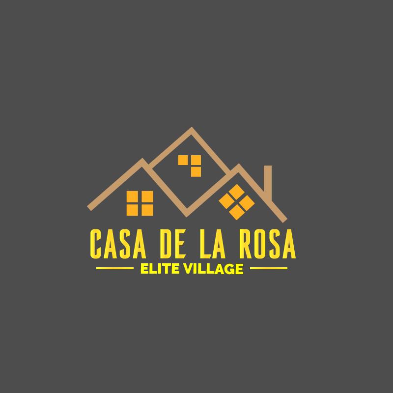 Логотип + Фирменный знак для элитного поселка Casa De La Rosa фото f_4245cd43c9834003.png