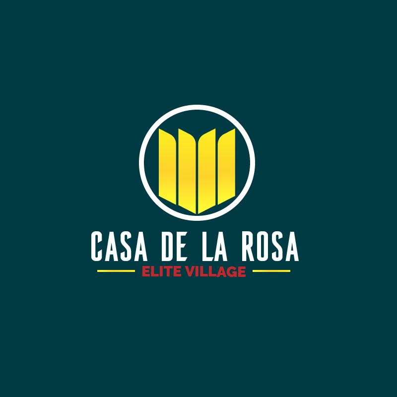 Логотип + Фирменный знак для элитного поселка Casa De La Rosa фото f_5095cd43ca76b5f6.png