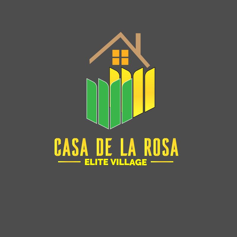 Логотип + Фирменный знак для элитного поселка Casa De La Rosa фото f_8735cd43c9e44eea.png