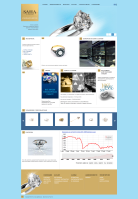 Сайт компании Саха Бриллианты Якутии
