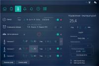 Интерфейс системы управления