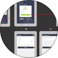 Прототип Daycare iPsad app