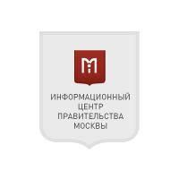 Баннер для информационного центра правительства Москвы
