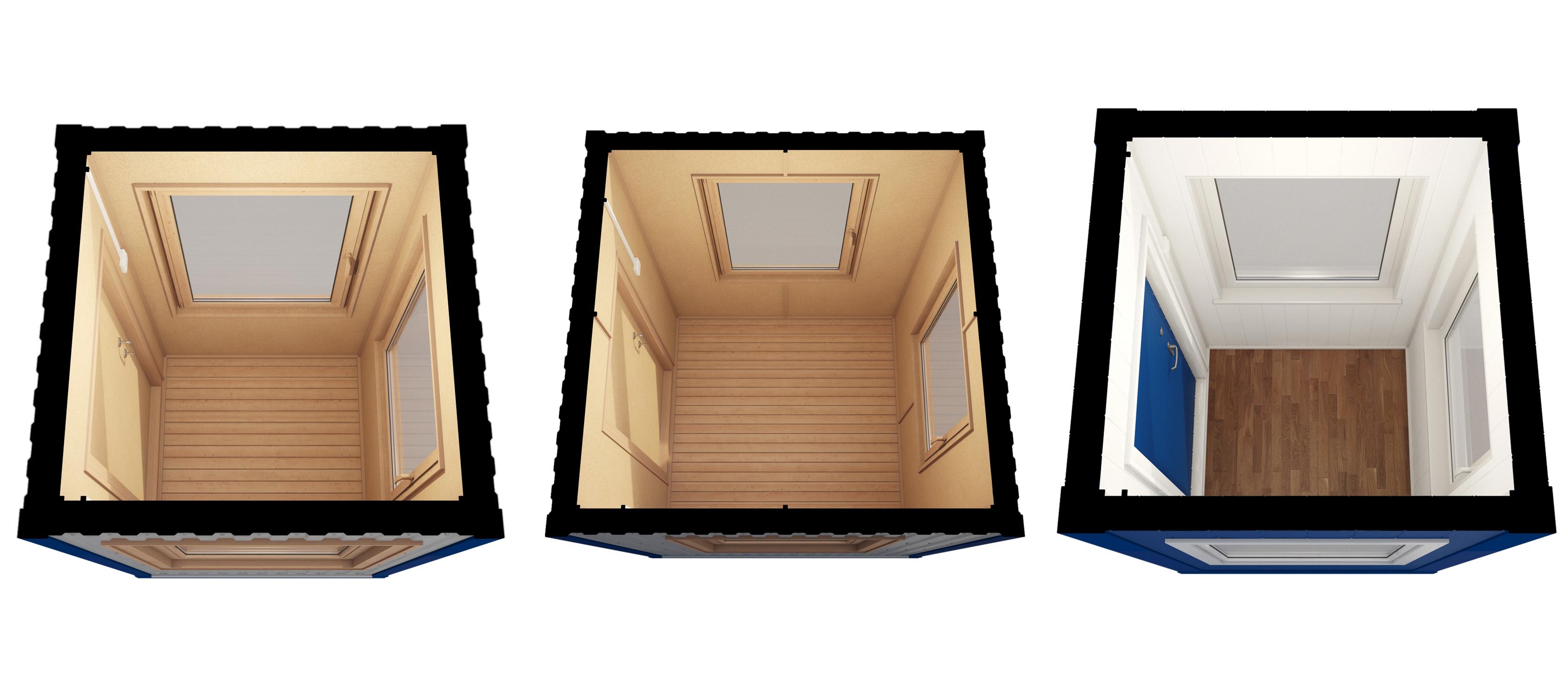 Блок-контейнеры в разрезе