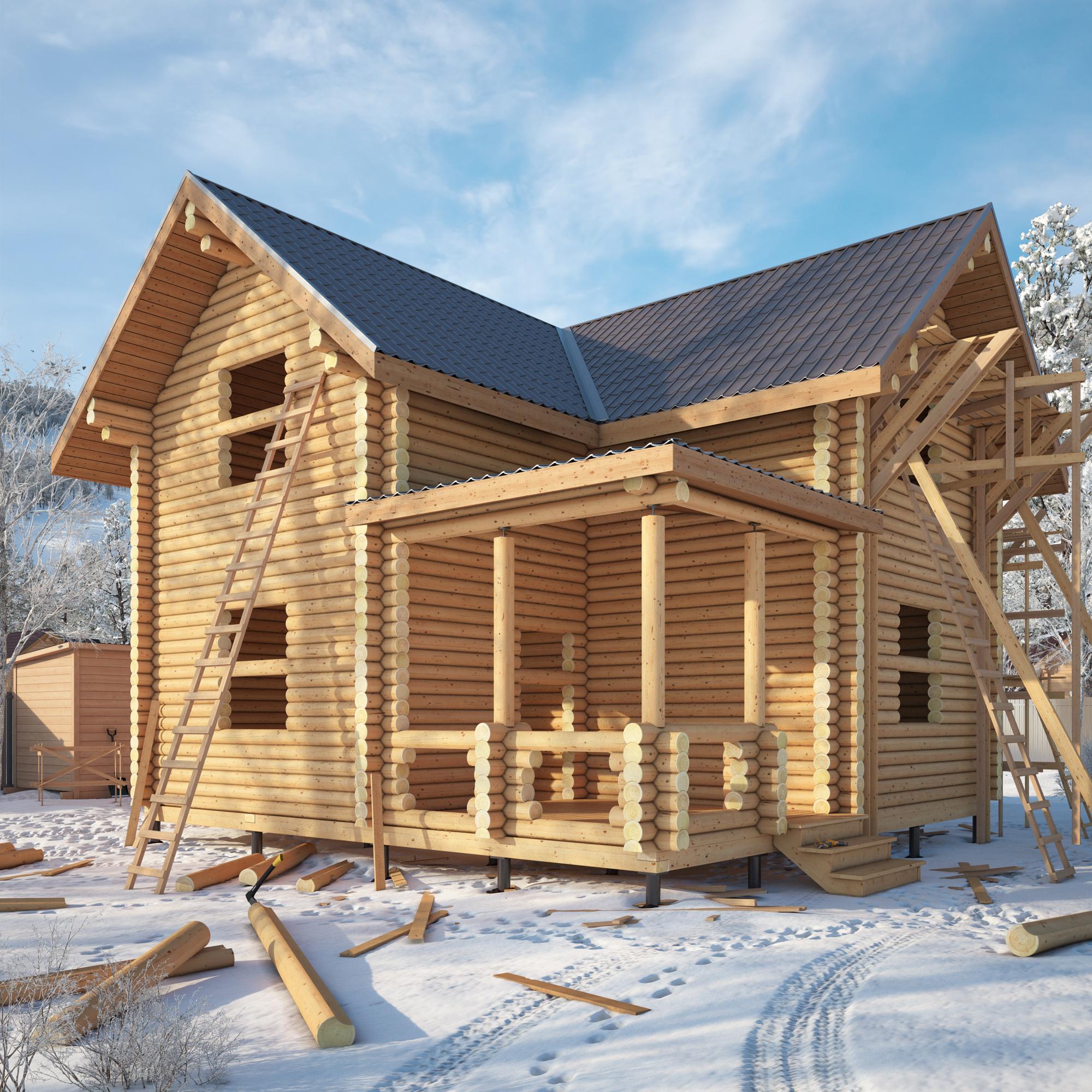 Зимнее строительство