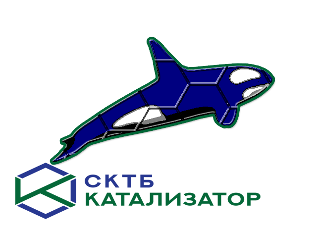 Разработка фирменного символа компании - касатки, НЕ ЛОГОТИП фото f_4095b01da5ec937d.png