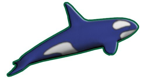 Разработка фирменного символа компании - касатки, НЕ ЛОГОТИП фото f_5285b0306fb2476b.jpg