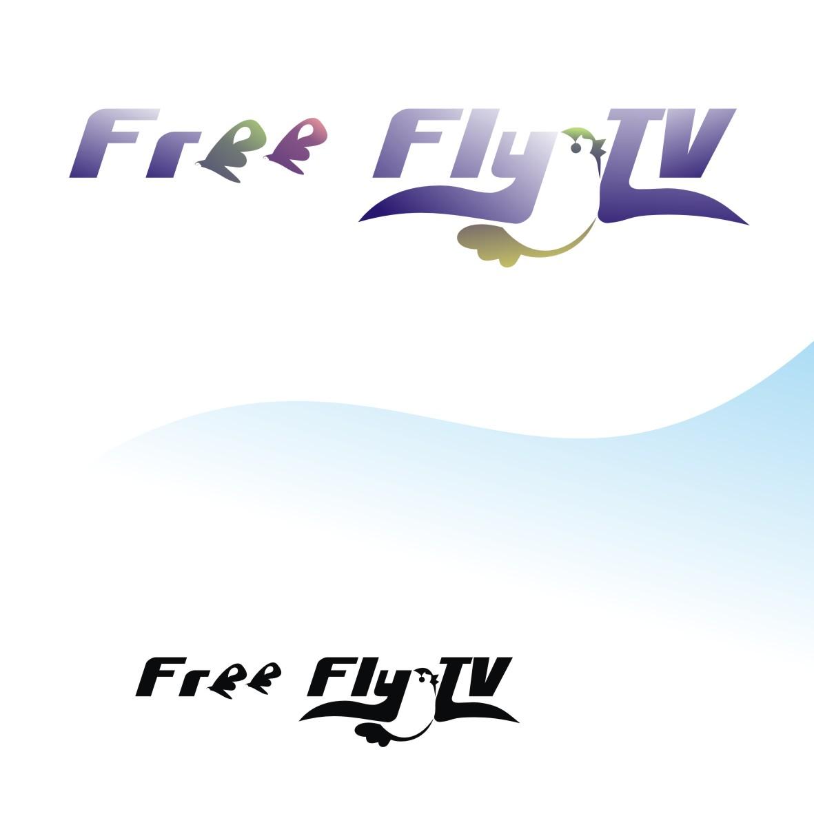 Логотип для общественного интернет-телевидения FreeFly фото f_4f97c353b5db1.jpg