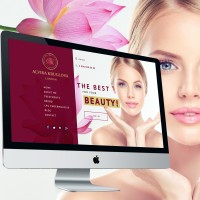 Сайт для Косметолога