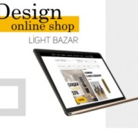 Дизайн интернет магазина Light Bazar