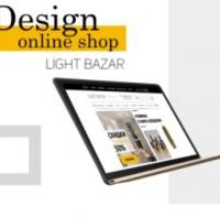 Дизайн интернет магазина Light Bazar