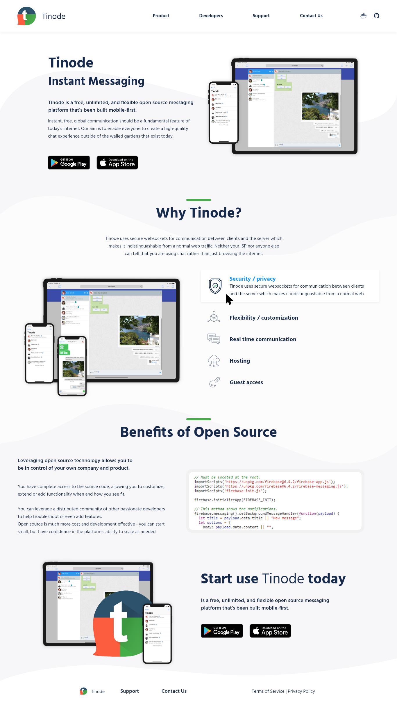Дизайн сайта tinode.co фото f_4795d724304c2f6f.png