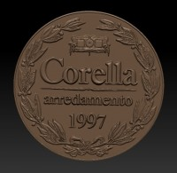 Медальон Corella