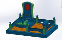 Моделинг и сборка памятника в SOLIDWORKS