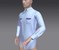 Модель рубашки
