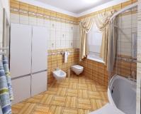 Интерьер квартиры (ванная)