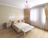 Загородный коттедж (спальня)