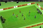 Анимация футболистов в симуляторе футбола
