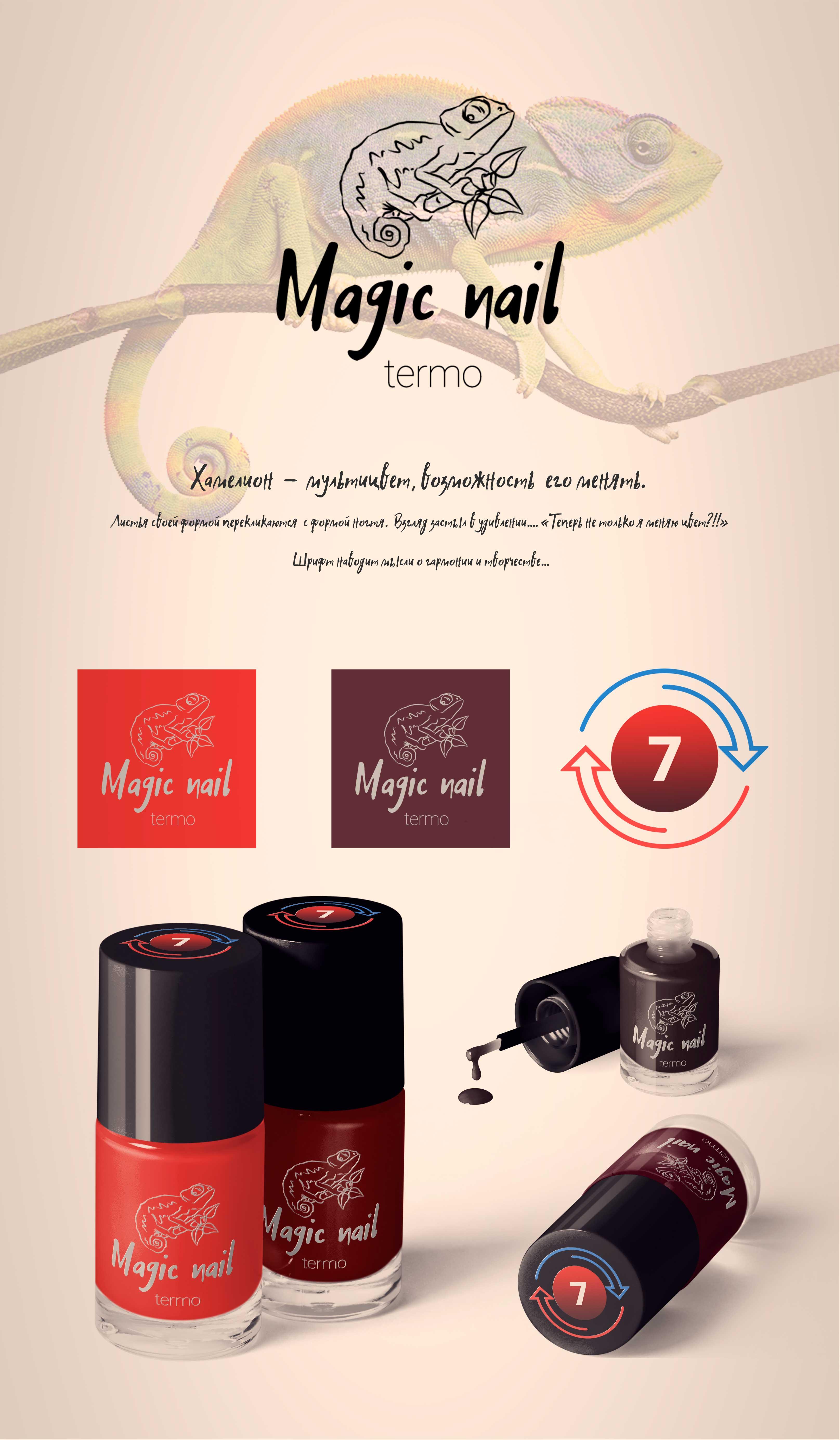 Дизайн этикетки лака для ногтей и логотип! фото f_6065a11320d16d52.jpg