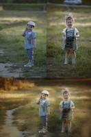 Совмещение 2 фото