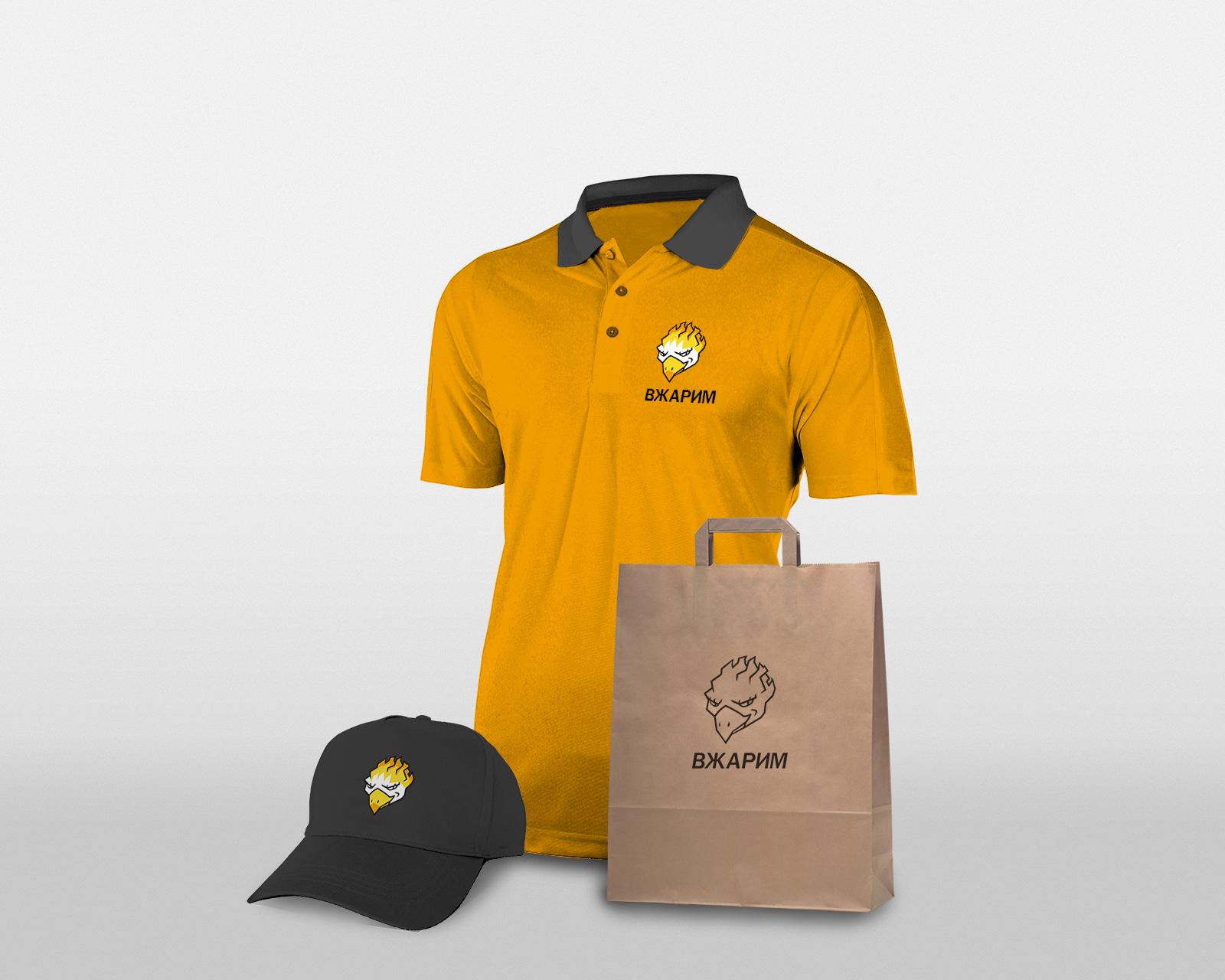 Требуется, разработка логотипа для крафт-кафе «ВЖАРИМ». фото f_6276008816872933.png