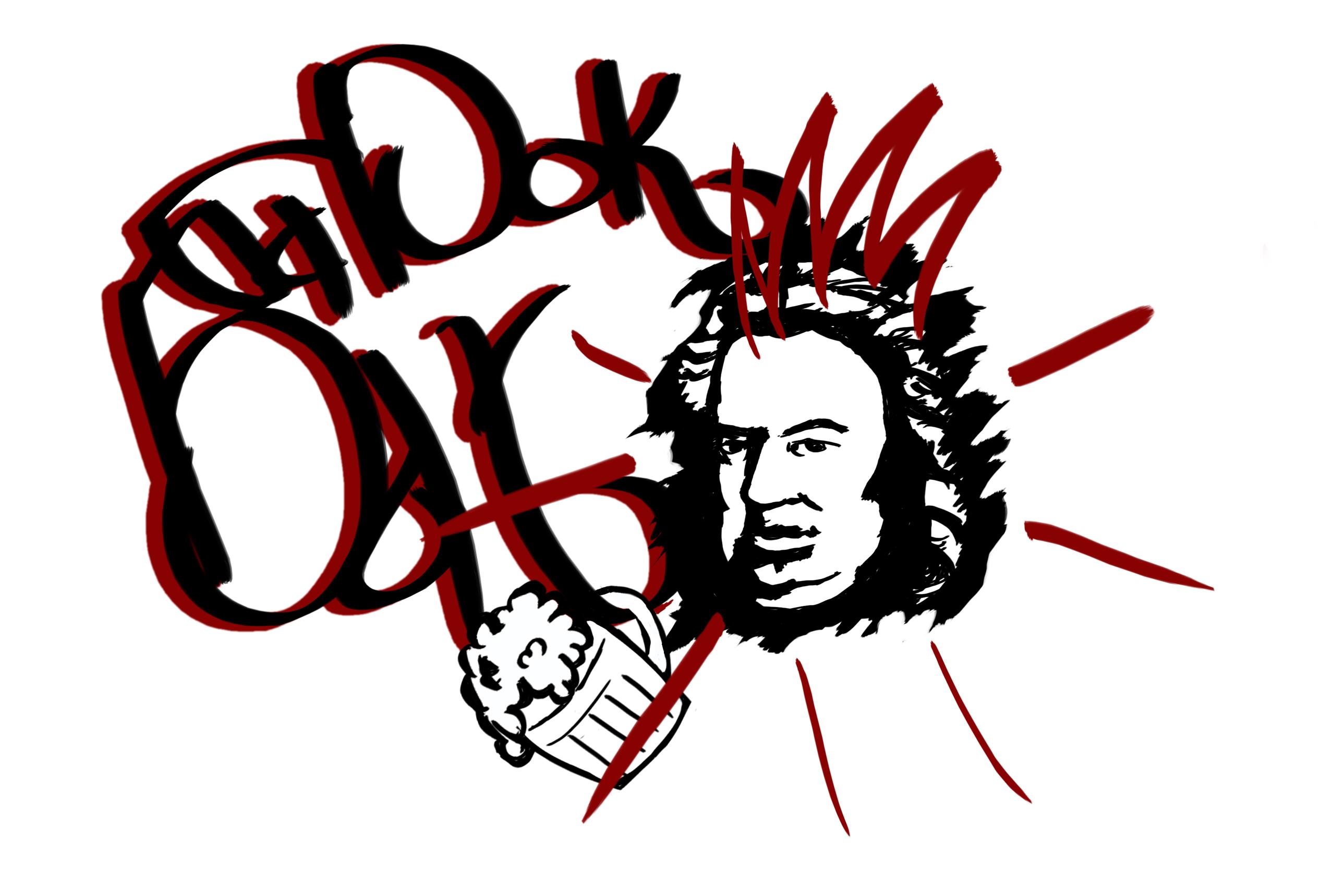 """Разработать логотип и вывеску рок-бару """"Бах"""" фото f_42259b3c68921b4b.jpg"""