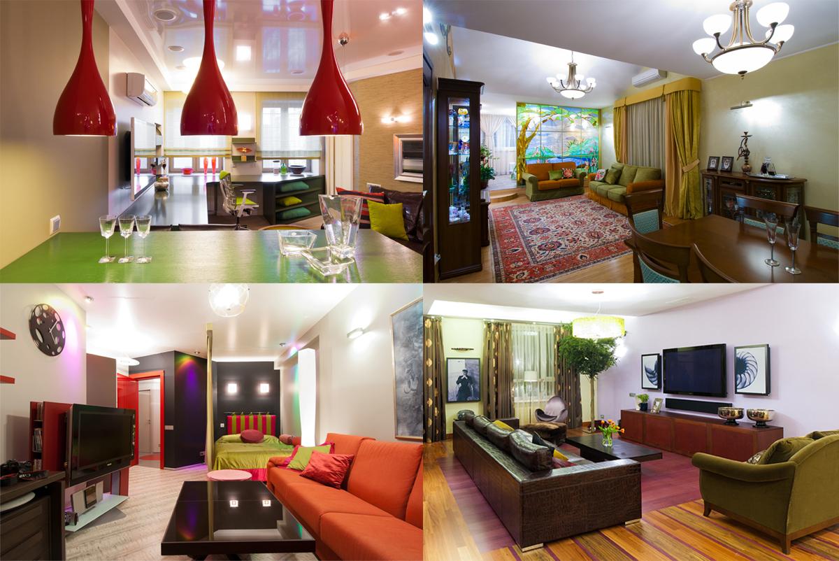Съёмки интерьеров квартир