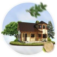 SIBCOMFORT - Сайт - каталог домов из дерева