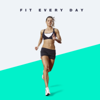 FIT EVERY DAY - Лендинг для Фитнес дневника