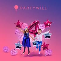 PARTYWILL - Онлайн гипермаркет для вечеринок в Екатеринбурге, Россия
