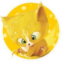 "Онлайн книга-раскраска ""Solar Kitten"""