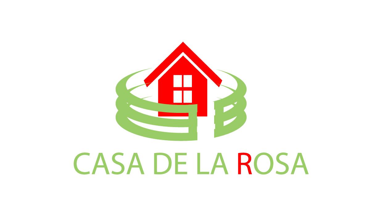 Логотип + Фирменный знак для элитного поселка Casa De La Rosa фото f_5825cd293032409c.jpg