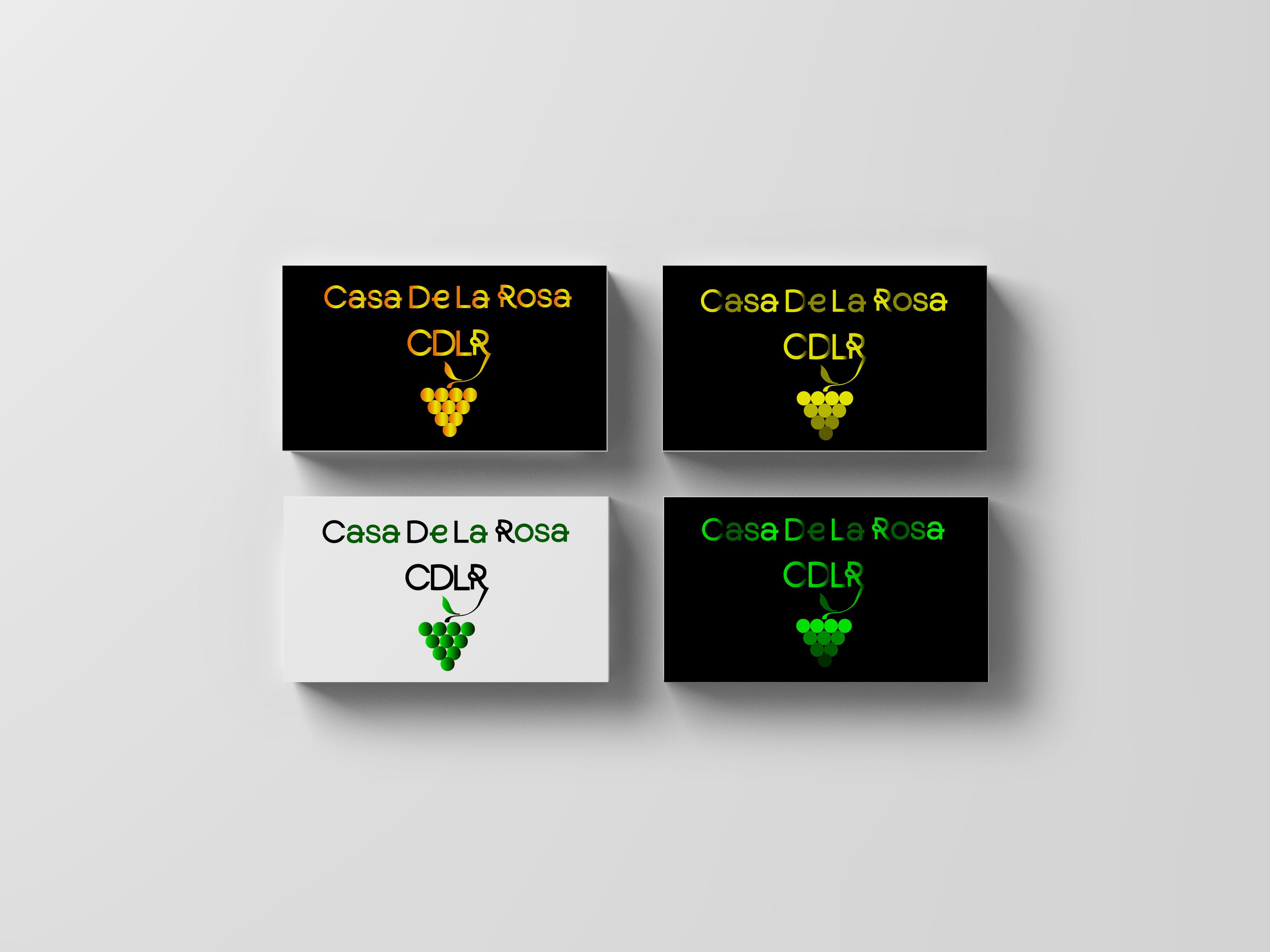 Логотип + Фирменный знак для элитного поселка Casa De La Rosa фото f_7395cd1da0831359.jpg