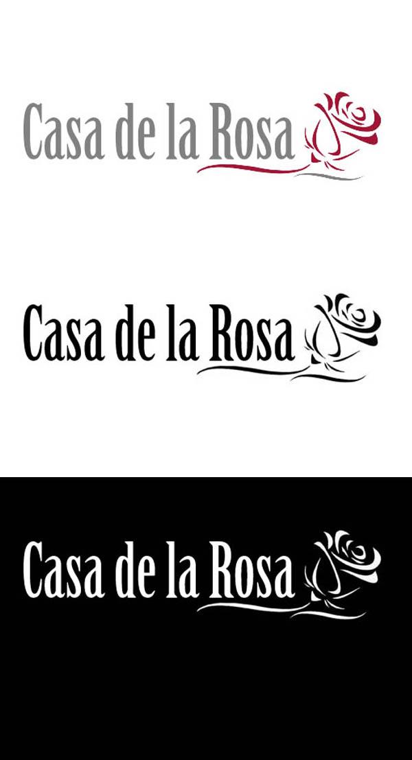 Логотип + Фирменный знак для элитного поселка Casa De La Rosa фото f_4325cd5fdaee02e9.jpg