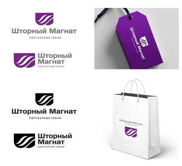 Логотип и фирменный стиль для магазина тканей. фото f_4595cdea8975ead1.jpg